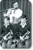 Brian's first All Ireland title 1980, pictured with his Father and Brother