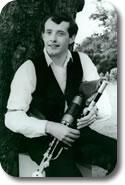 Brian on Comhaltas Tour of USA 1989